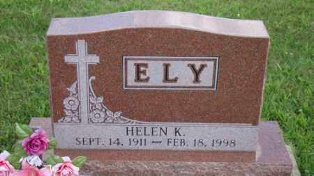 ELY, HELEN - Coshocton County, Ohio | HELEN ELY - Ohio Gravestone Photos
