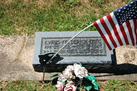 EMIG, CYRUS FREDERICK - Coshocton County, Ohio | CYRUS FREDERICK EMIG - Ohio Gravestone Photos