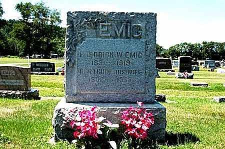 ARONHALT EMIG, GERTRUDE - Coshocton County, Ohio | GERTRUDE ARONHALT EMIG - Ohio Gravestone Photos