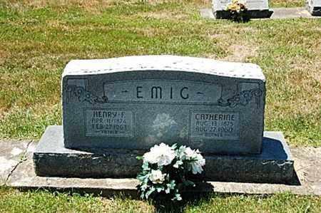EMIG, HENRY F. - Coshocton County, Ohio | HENRY F. EMIG - Ohio Gravestone Photos