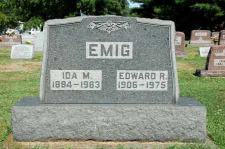 LAYMAN EMIG, IDA M. - Coshocton County, Ohio | IDA M. LAYMAN EMIG - Ohio Gravestone Photos