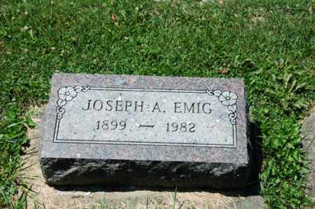 EMIG, JOSEPH A. - Coshocton County, Ohio | JOSEPH A. EMIG - Ohio Gravestone Photos