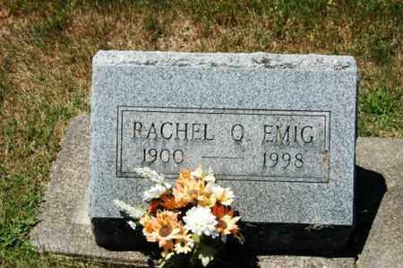 EMIG, RACHEL OLETA - Coshocton County, Ohio | RACHEL OLETA EMIG - Ohio Gravestone Photos