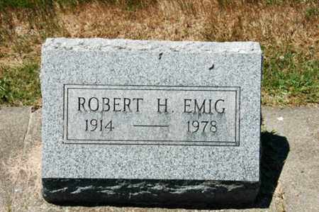 EMIG, ROBERT H. - Coshocton County, Ohio | ROBERT H. EMIG - Ohio Gravestone Photos