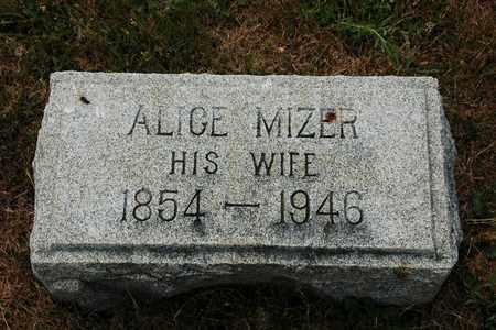 EVERHART, ALICE - Coshocton County, Ohio | ALICE EVERHART - Ohio Gravestone Photos