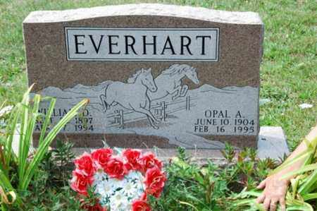 EVERHART, OPAL A. - Coshocton County, Ohio | OPAL A. EVERHART - Ohio Gravestone Photos
