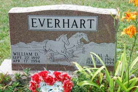 EVERHART, WILLIAM D. - Coshocton County, Ohio | WILLIAM D. EVERHART - Ohio Gravestone Photos