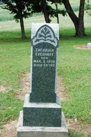 EVERHART, ZACHARIAH - Coshocton County, Ohio | ZACHARIAH EVERHART - Ohio Gravestone Photos