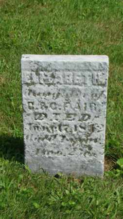 FAIR, ELIZABETH - Coshocton County, Ohio | ELIZABETH FAIR - Ohio Gravestone Photos