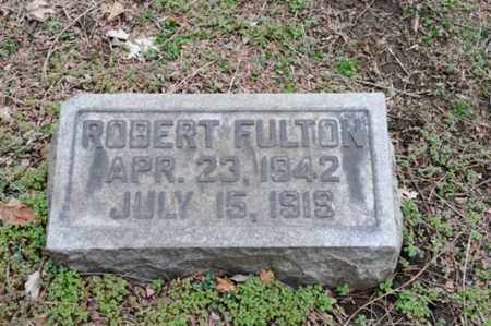 FULTON, ROBERT - Coshocton County, Ohio | ROBERT FULTON - Ohio Gravestone Photos