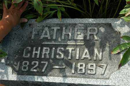 GARBER, CHRISTIAN - Coshocton County, Ohio | CHRISTIAN GARBER - Ohio Gravestone Photos