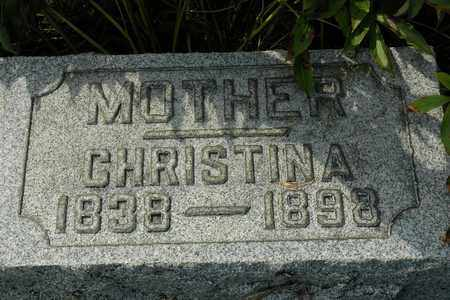 GARBER, CHRISTINA - Coshocton County, Ohio | CHRISTINA GARBER - Ohio Gravestone Photos