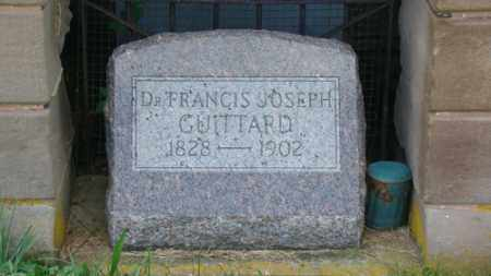 GUITTARD, FRANCIS - Coshocton County, Ohio | FRANCIS GUITTARD - Ohio Gravestone Photos