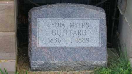 GUITTARD, LYDIA - Coshocton County, Ohio | LYDIA GUITTARD - Ohio Gravestone Photos
