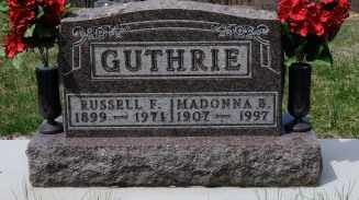 GUTHRIE, RUSSELL F. - Coshocton County, Ohio | RUSSELL F. GUTHRIE - Ohio Gravestone Photos