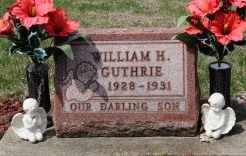 GUTHRIE, WILLIAM H. - Coshocton County, Ohio | WILLIAM H. GUTHRIE - Ohio Gravestone Photos