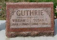 GUTHRIE, WILLIAM J. - Coshocton County, Ohio | WILLIAM J. GUTHRIE - Ohio Gravestone Photos