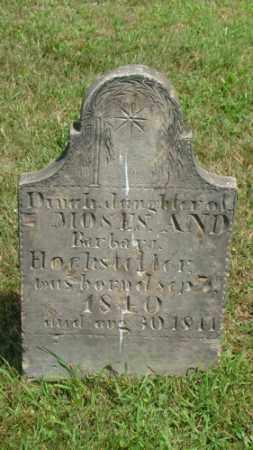 HOCHSTETLER, DINAH - Coshocton County, Ohio | DINAH HOCHSTETLER - Ohio Gravestone Photos