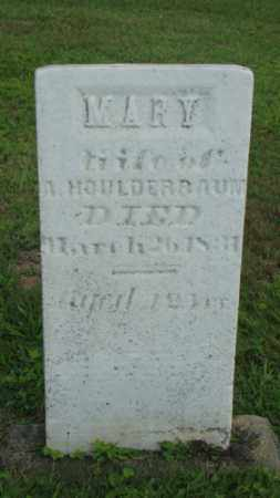 HOULDERBAUM, MARY - Coshocton County, Ohio | MARY HOULDERBAUM - Ohio Gravestone Photos