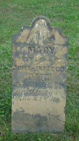 INFIELD, MARY - Coshocton County, Ohio | MARY INFIELD - Ohio Gravestone Photos
