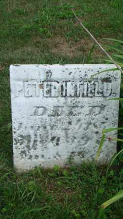 INFIELD, PETER - Coshocton County, Ohio | PETER INFIELD - Ohio Gravestone Photos