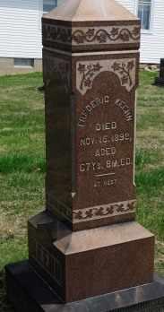 KEEHN, FREDERIC - Coshocton County, Ohio | FREDERIC KEEHN - Ohio Gravestone Photos