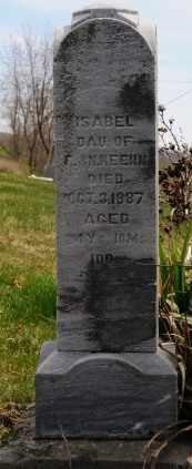 KEEHN, ISABEL - Coshocton County, Ohio | ISABEL KEEHN - Ohio Gravestone Photos