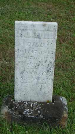 KERSTETTER, JOHN - Coshocton County, Ohio | JOHN KERSTETTER - Ohio Gravestone Photos