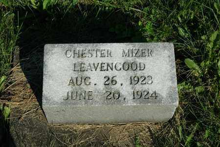LEAVENGOOD, CHESTER MIZER - Coshocton County, Ohio | CHESTER MIZER LEAVENGOOD - Ohio Gravestone Photos