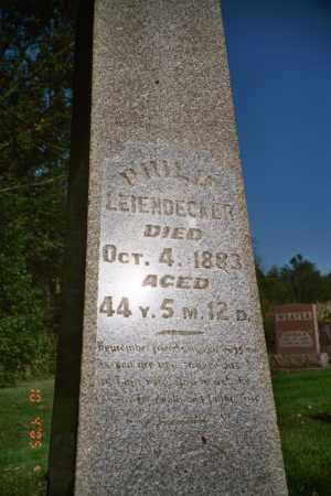 LEIENDECKER, PHILLIP - Coshocton County, Ohio | PHILLIP LEIENDECKER - Ohio Gravestone Photos