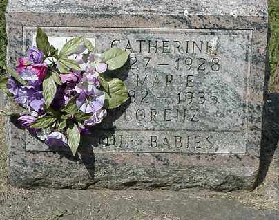 LORENZ, CATHERINE - Coshocton County, Ohio | CATHERINE LORENZ - Ohio Gravestone Photos