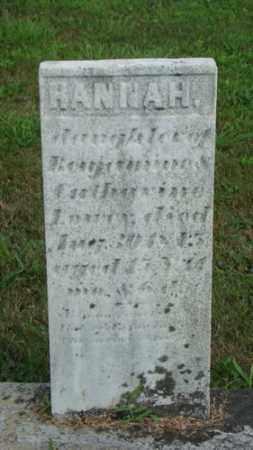 LOWE, HANNAH - Coshocton County, Ohio | HANNAH LOWE - Ohio Gravestone Photos