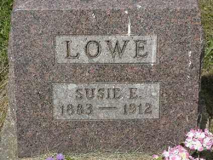 LOWE, SUSIE E - Coshocton County, Ohio | SUSIE E LOWE - Ohio Gravestone Photos