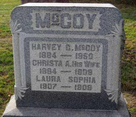 MCCOY, SOPHIA - Coshocton County, Ohio | SOPHIA MCCOY - Ohio Gravestone Photos