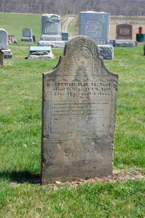 MCNEAL, ARCHIBALD - Coshocton County, Ohio | ARCHIBALD MCNEAL - Ohio Gravestone Photos