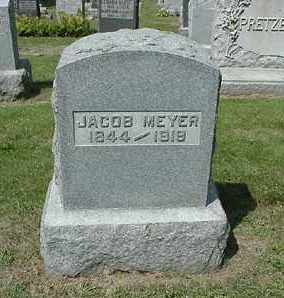 MEYER, JACOB - Coshocton County, Ohio | JACOB MEYER - Ohio Gravestone Photos