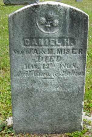 MISER, DANIEL H. - Coshocton County, Ohio | DANIEL H. MISER - Ohio Gravestone Photos
