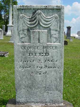 MISER, GEORGE - Coshocton County, Ohio | GEORGE MISER - Ohio Gravestone Photos