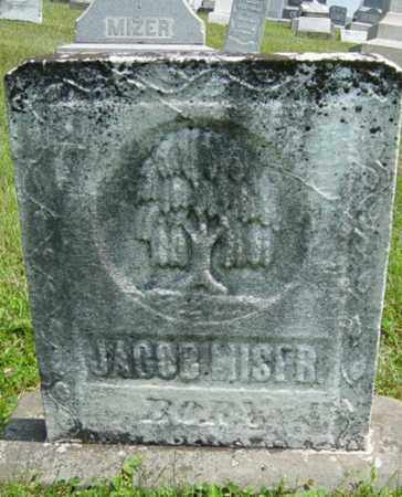 MISER, JACOB - Coshocton County, Ohio | JACOB MISER - Ohio Gravestone Photos