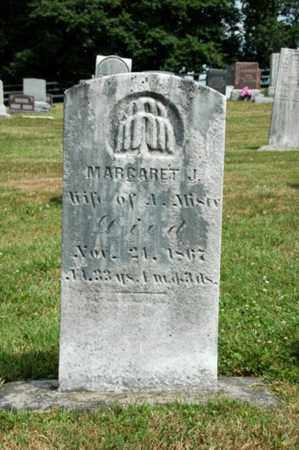 MISER, MARGARET J. - Coshocton County, Ohio | MARGARET J. MISER - Ohio Gravestone Photos
