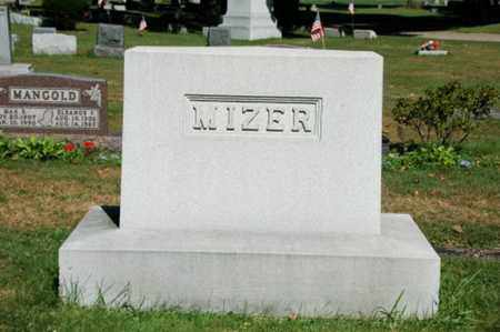 MIZER, AUDREY V. - Coshocton County, Ohio | AUDREY V. MIZER - Ohio Gravestone Photos