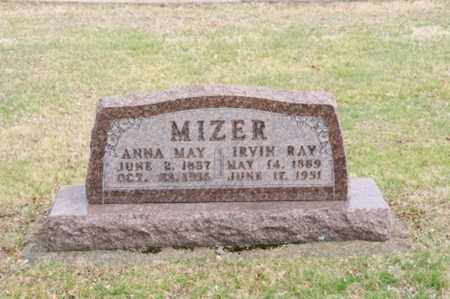 MIZER, ANNA MAY - Coshocton County, Ohio | ANNA MAY MIZER - Ohio Gravestone Photos