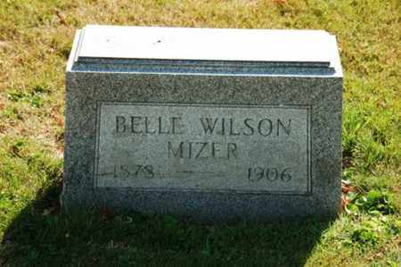 WILSON MIZER, BELLE - Coshocton County, Ohio | BELLE WILSON MIZER - Ohio Gravestone Photos