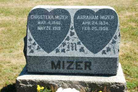SNYDER MIZER, CHRISTENA - Coshocton County, Ohio | CHRISTENA SNYDER MIZER - Ohio Gravestone Photos