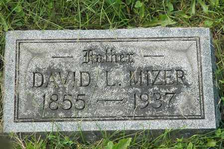 MIZER, DAVID L. - Coshocton County, Ohio | DAVID L. MIZER - Ohio Gravestone Photos