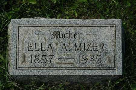 CAHILL MIZER, ELLA A. - Coshocton County, Ohio | ELLA A. CAHILL MIZER - Ohio Gravestone Photos