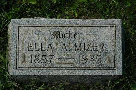 MIZER, ELLA A. - Coshocton County, Ohio | ELLA A. MIZER - Ohio Gravestone Photos