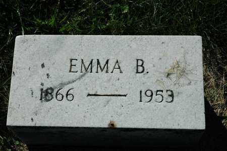 BAHMER MIZER, EMMA - Coshocton County, Ohio | EMMA BAHMER MIZER - Ohio Gravestone Photos