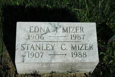MIZER, EDNA I. - Coshocton County, Ohio | EDNA I. MIZER - Ohio Gravestone Photos