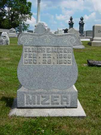 MIZER, ELMER E. - Coshocton County, Ohio | ELMER E. MIZER - Ohio Gravestone Photos